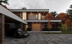 проект дома в стиле хай тек фото 5