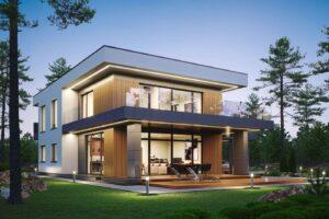 проект дома в стиле хай тек фото 6