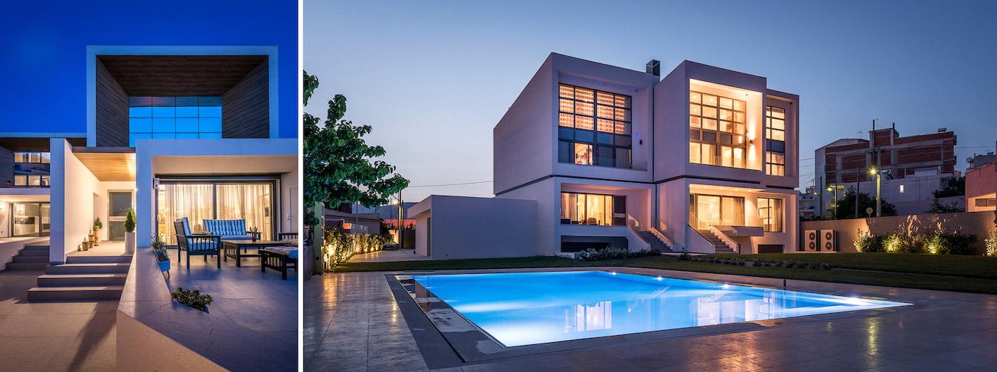 дом в стиле хай тек фото 14