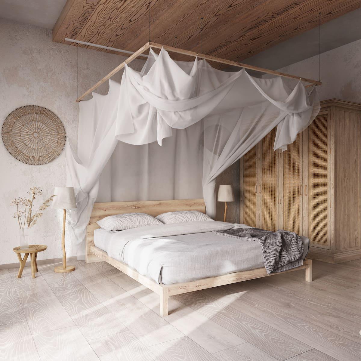 intérieur de chambre à coucher tendance photo 27