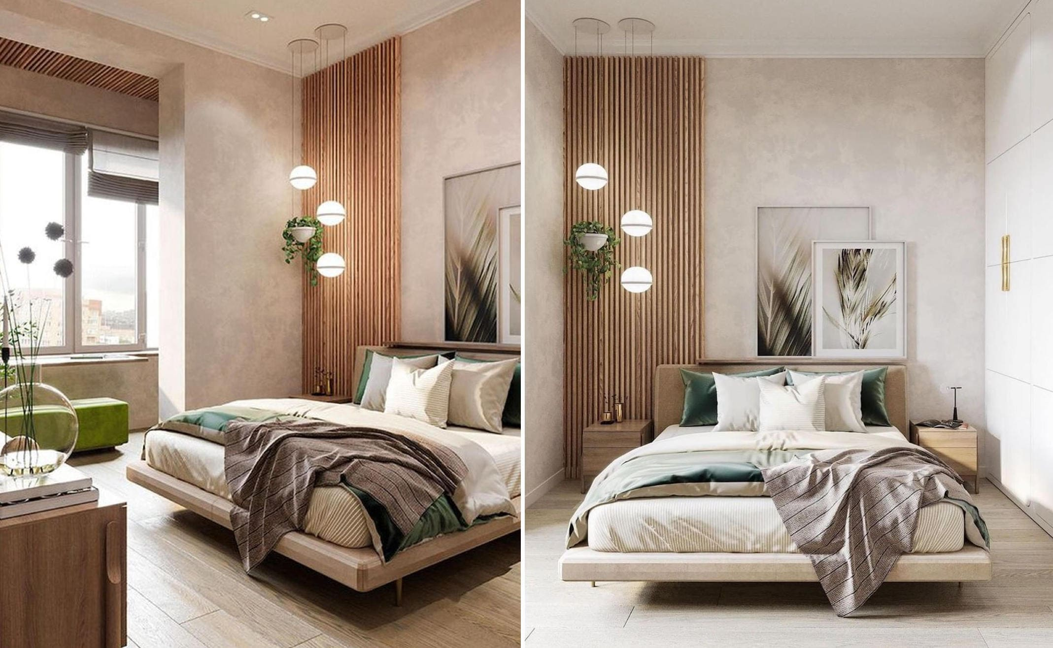 Intérieur de chambre à coucher tendance photo 31