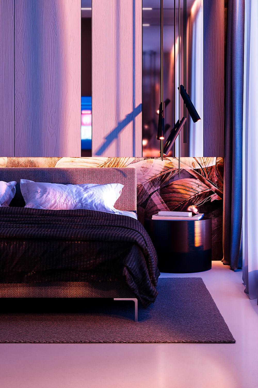 Intérieur de chambre à coucher tendance photo 4