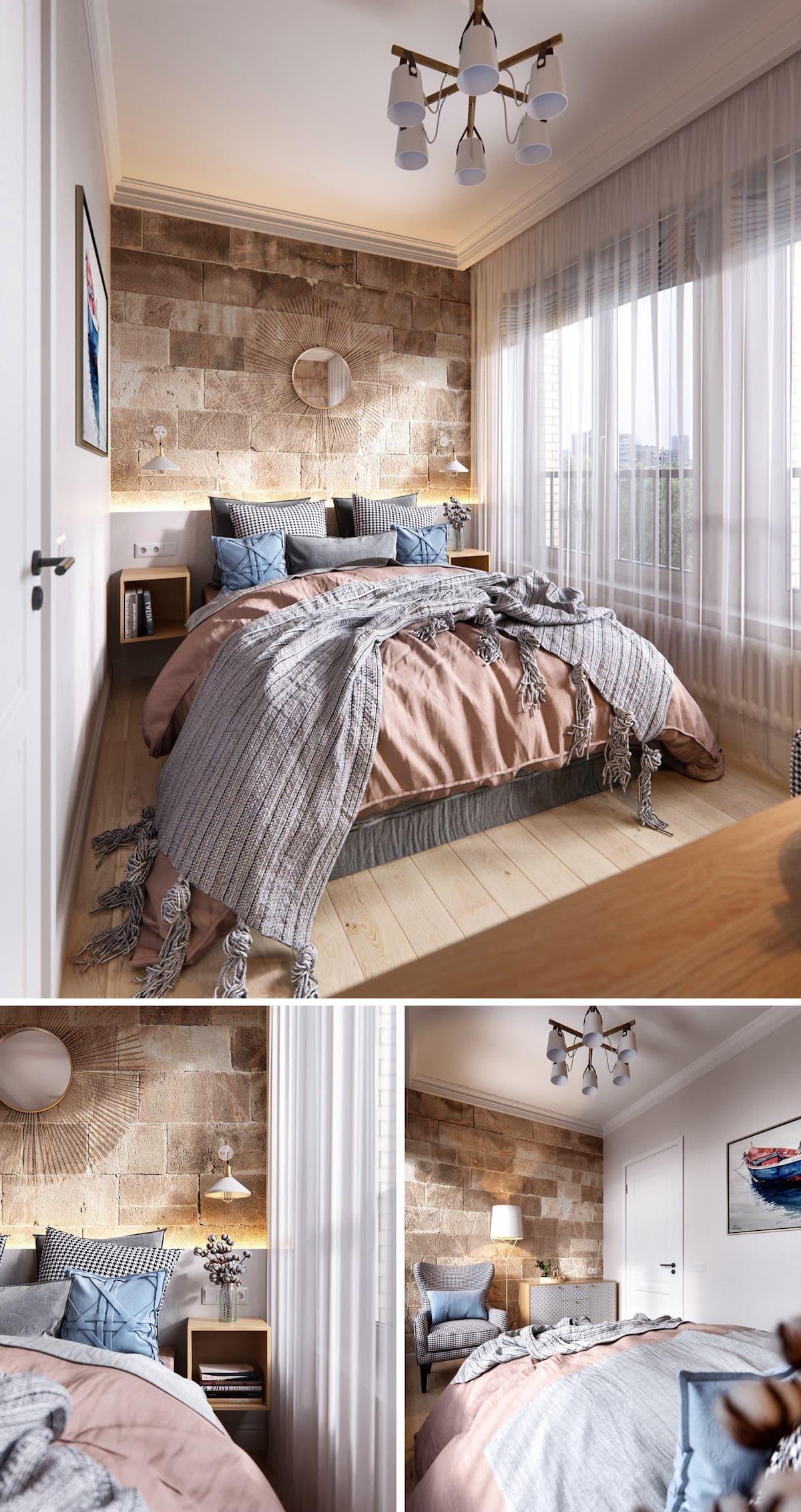 Intérieur de chambre à coucher tendance photo 19