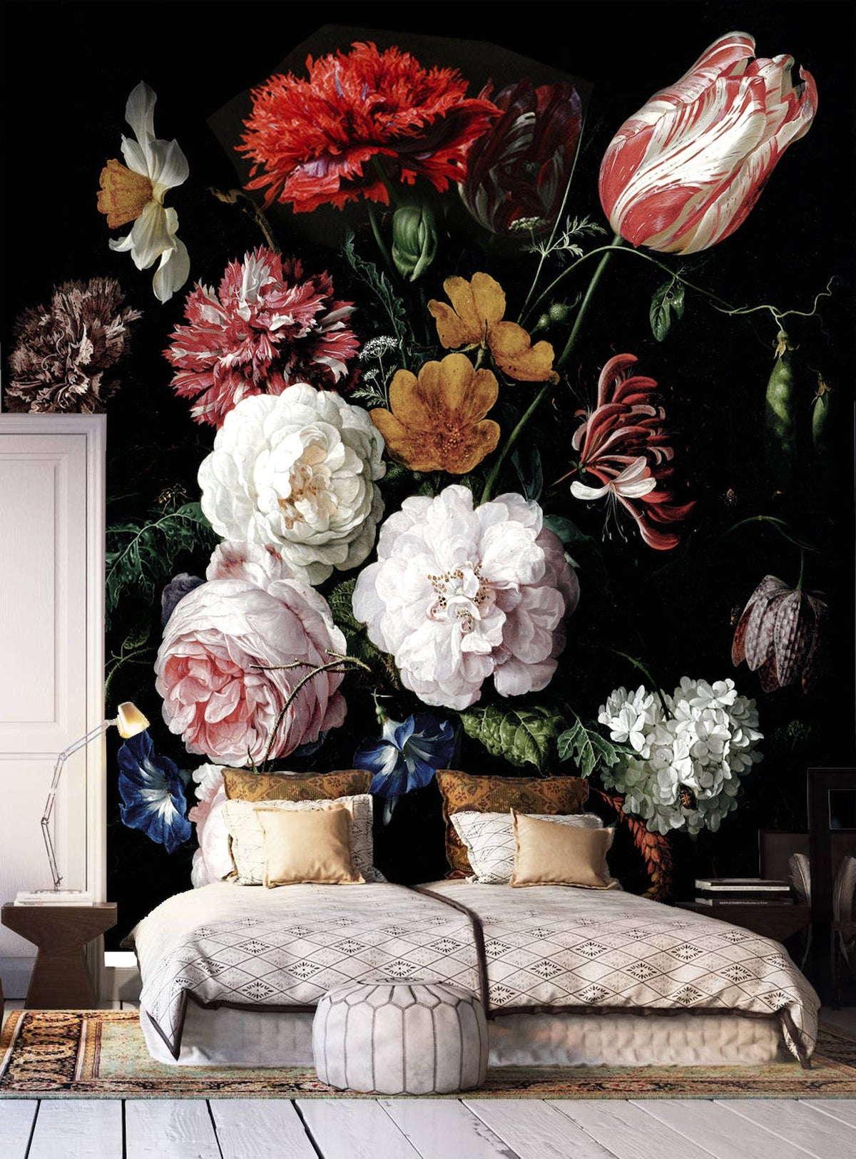Intérieur de chambre à coucher à la mode photo 41