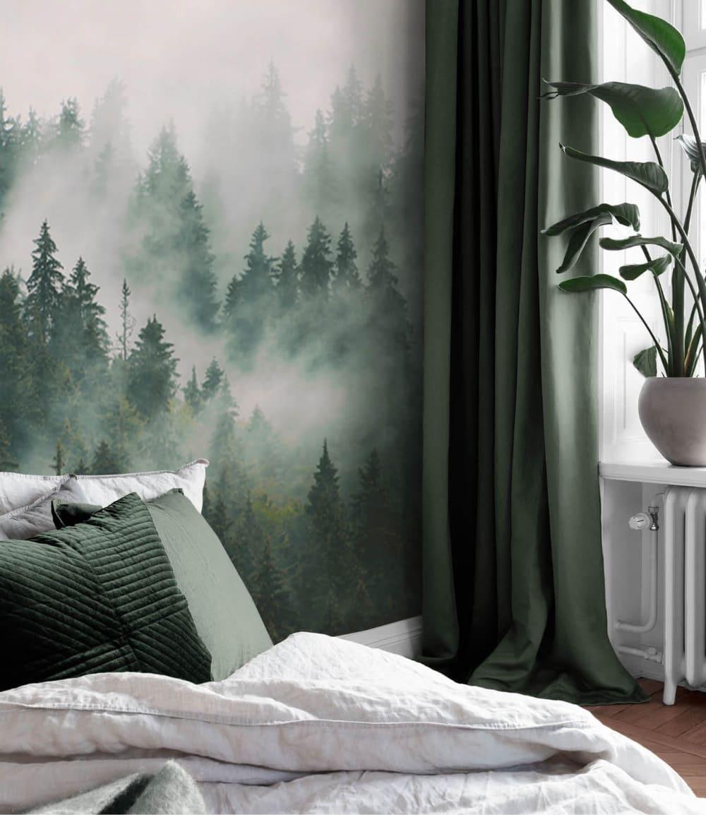 Intérieur de chambre à coucher à la mode, photo 42