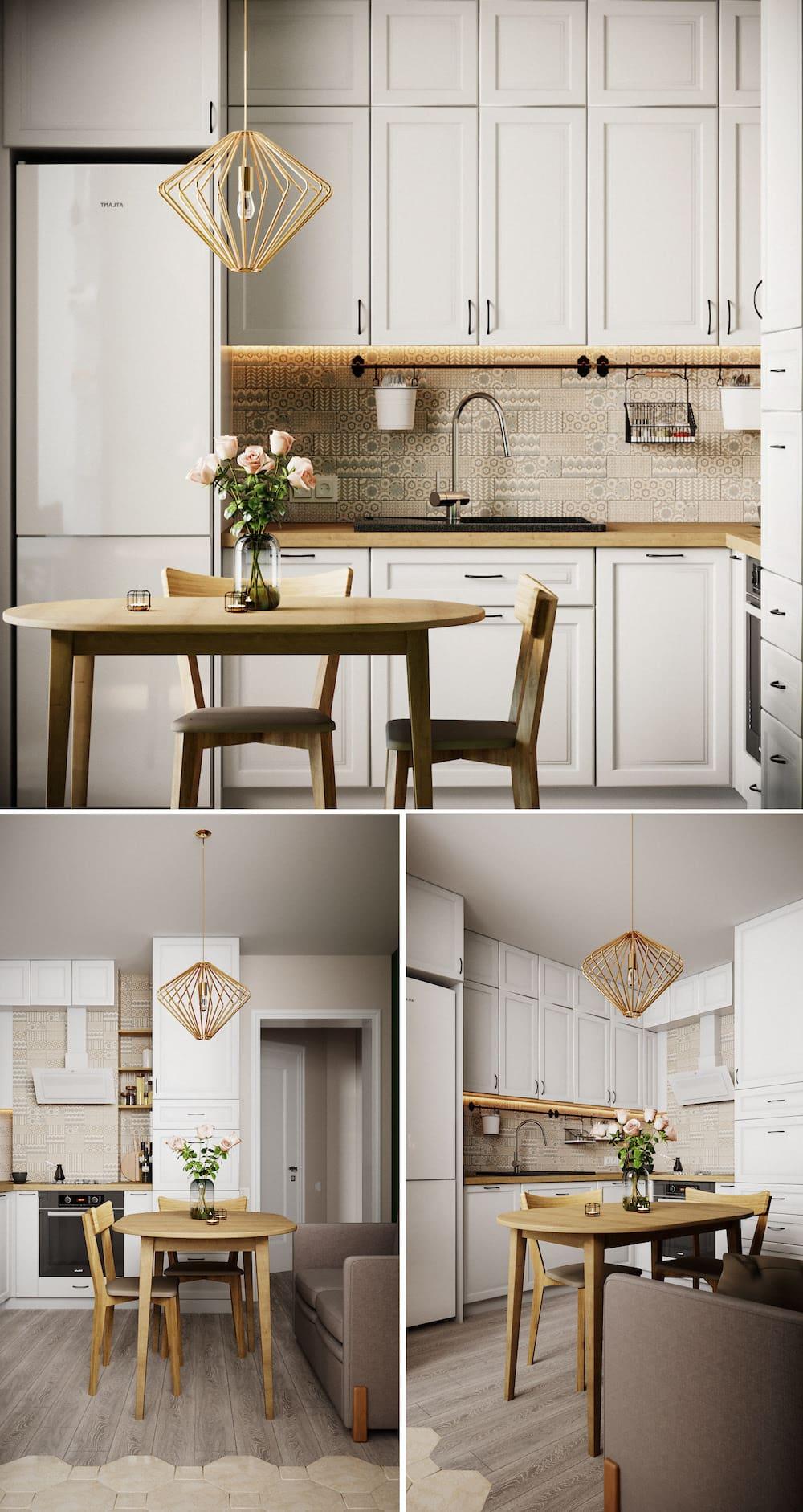 модный дизайн кухни 19