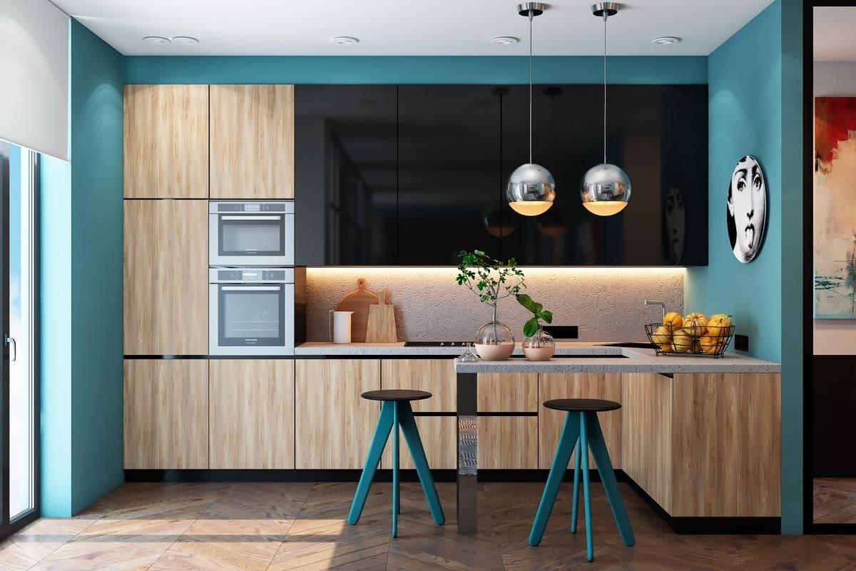 модный дизайн кухни 27