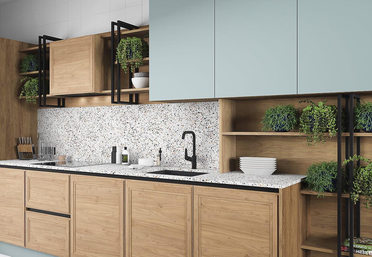 модный дизайн кухни 15