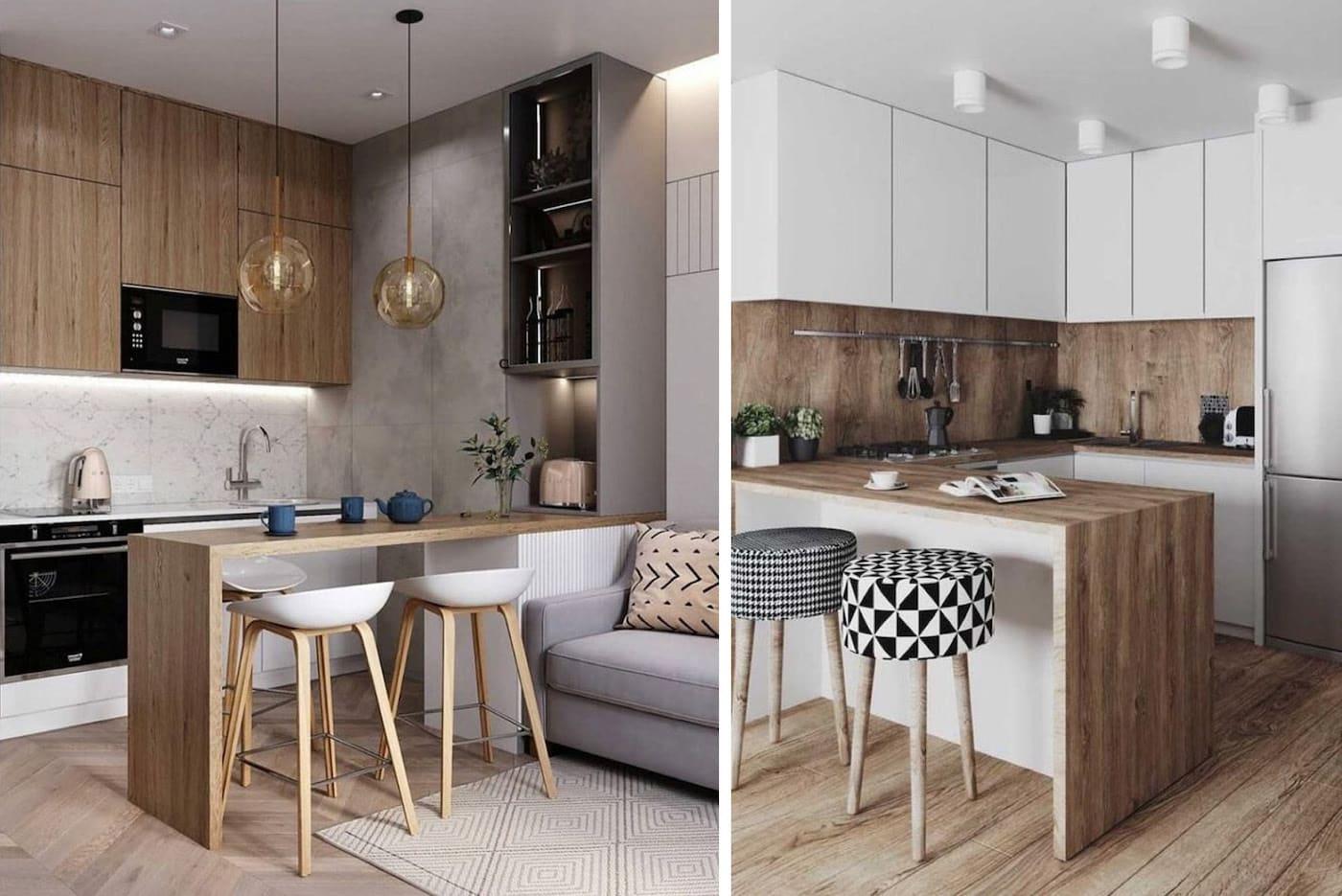 модный дизайн кухни 28