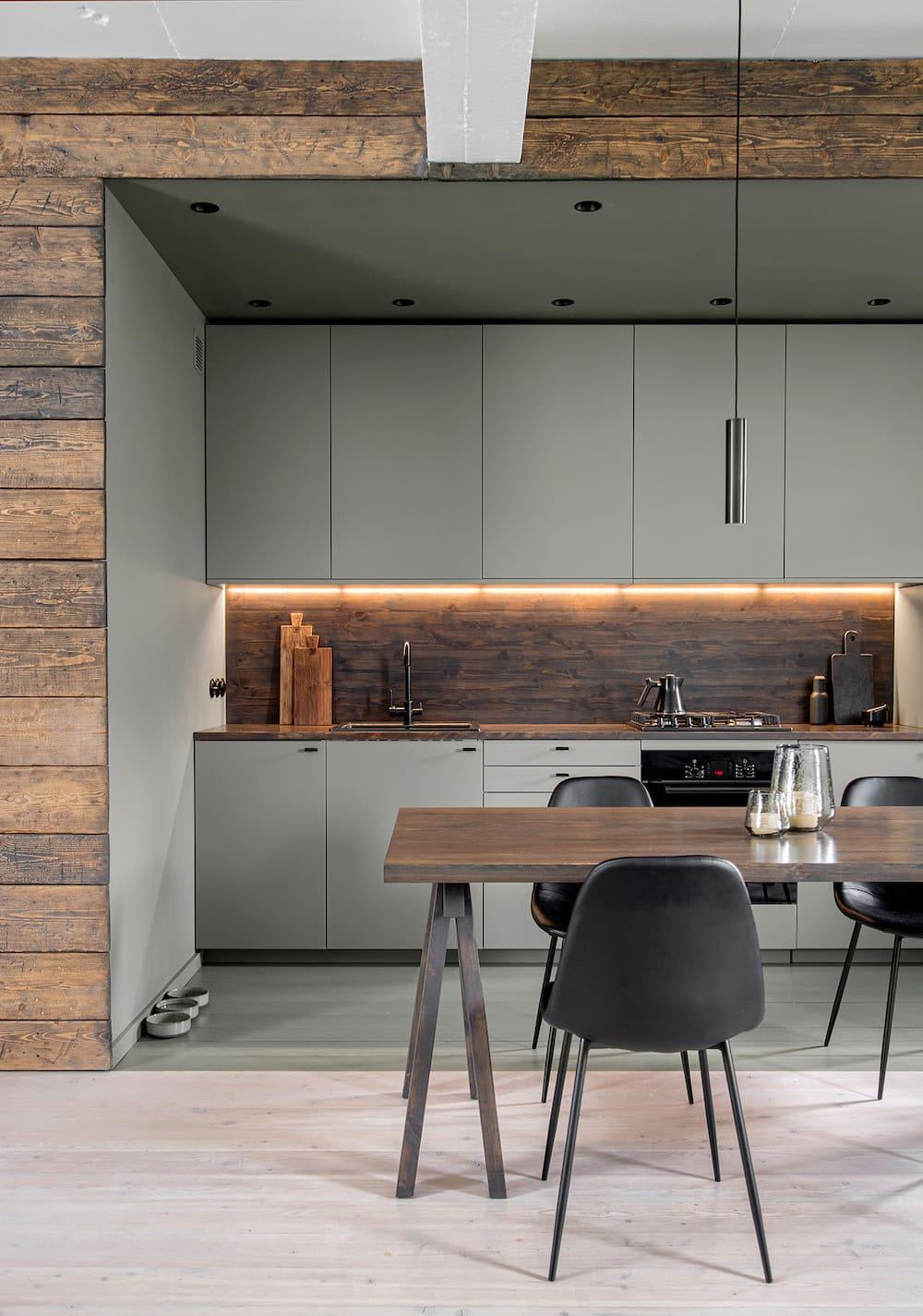 модный дизайн кухни 4