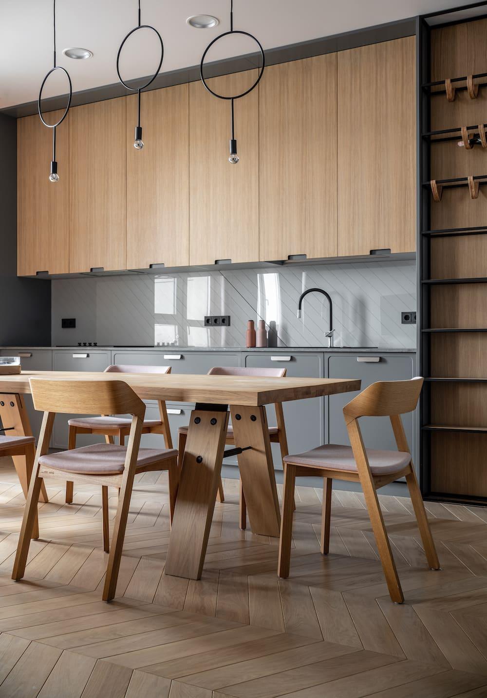 модный дизайн кухни 36