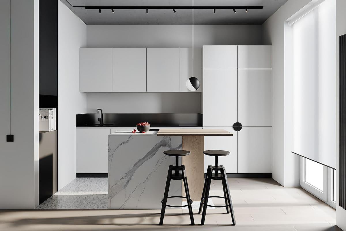 модный дизайн кухни 43