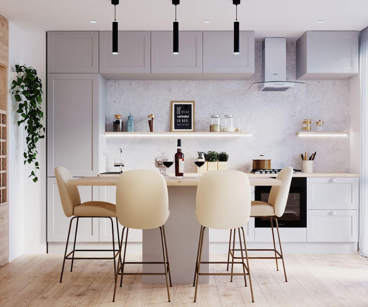 модный дизайн кухни 11