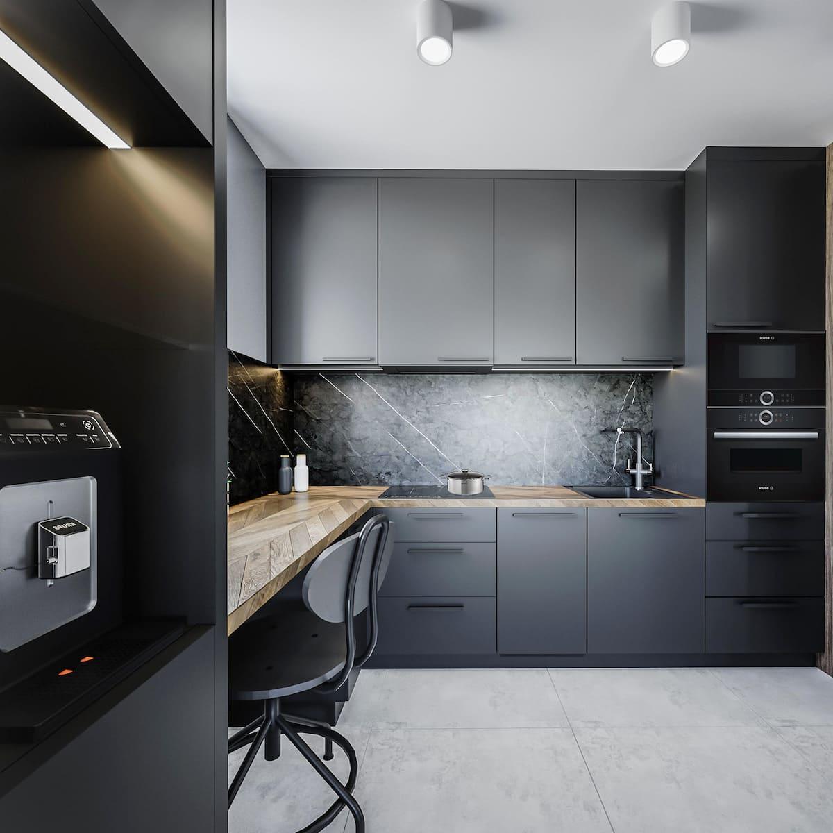 модный дизайн кухни 5