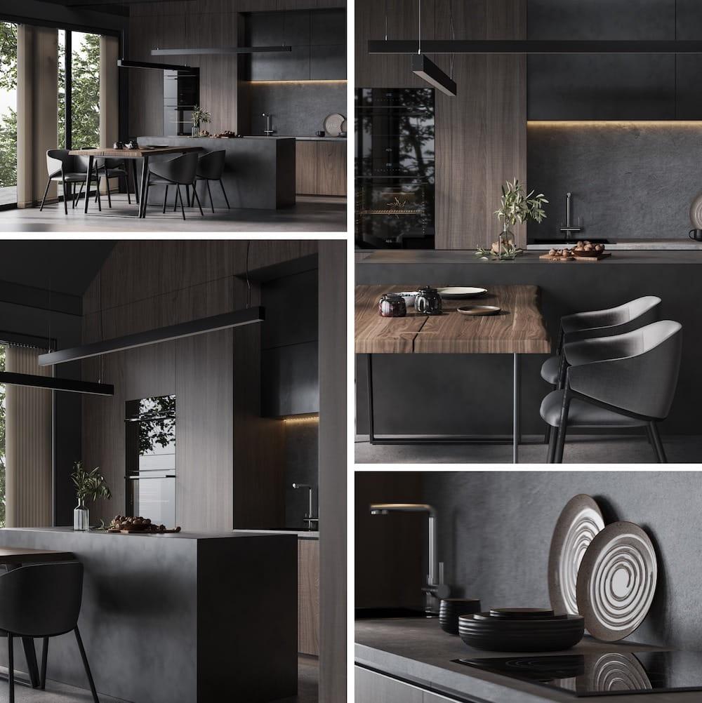 модный дизайн кухни 9