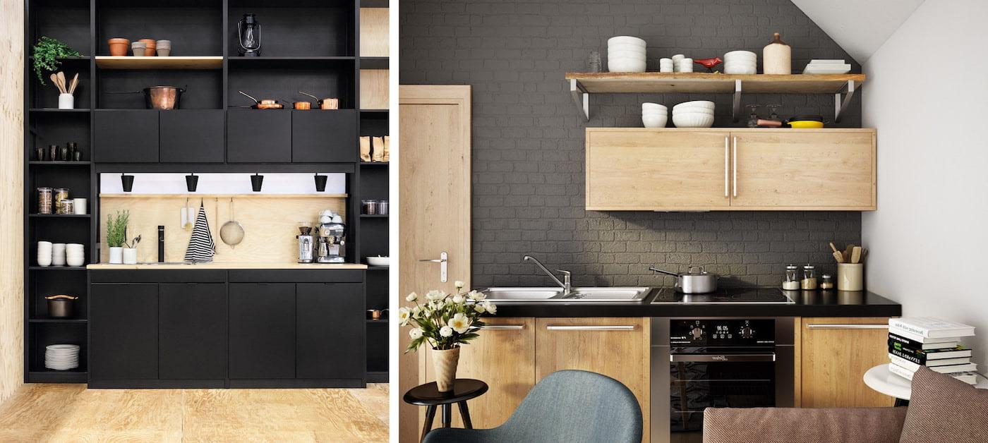 модный дизайн кухни 48