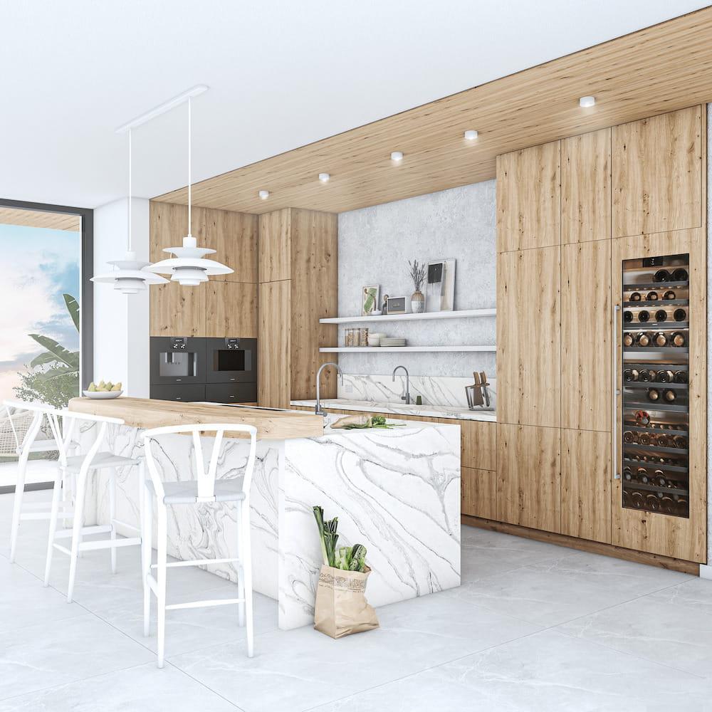модный дизайн кухни 33