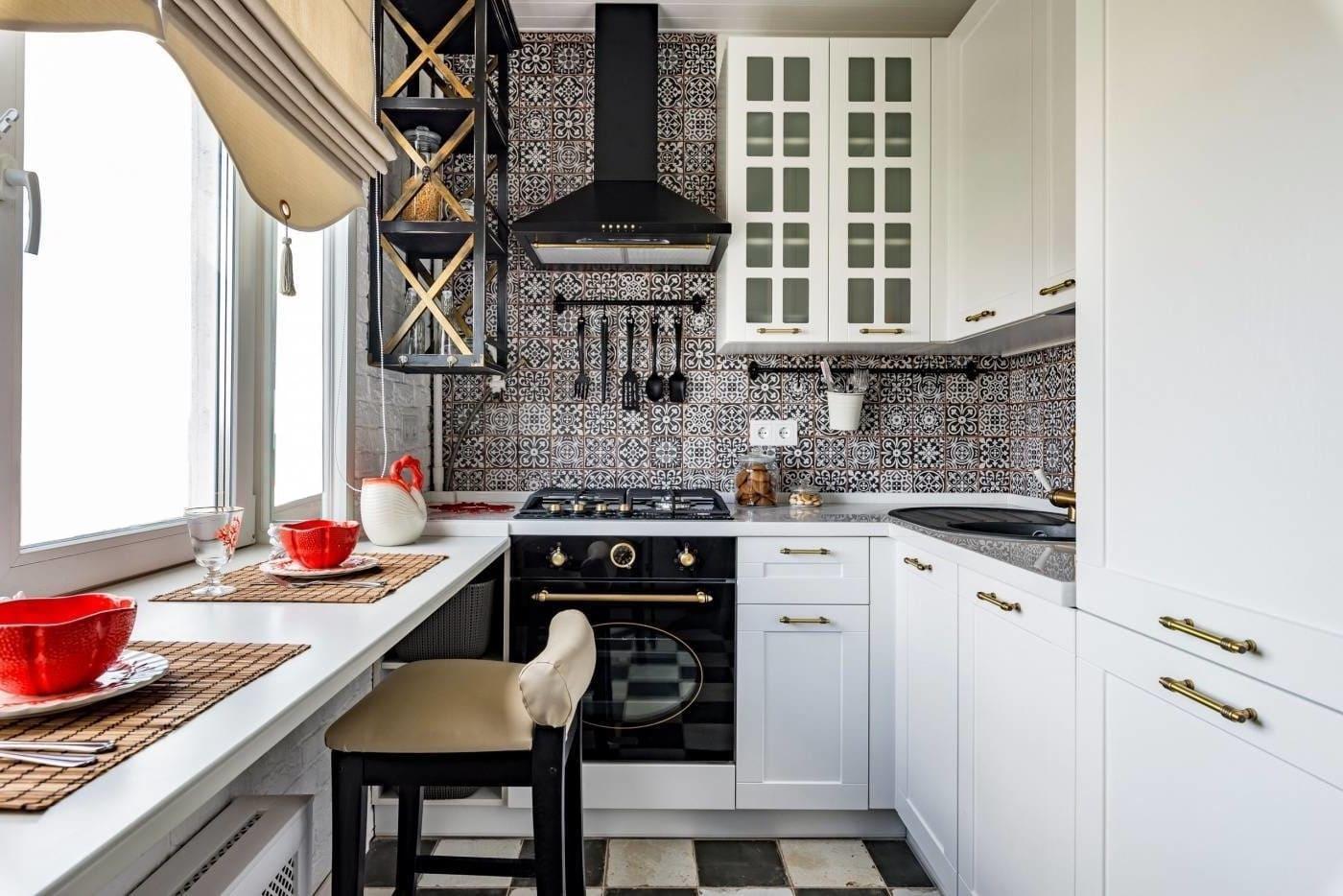 модный дизайн кухни 32