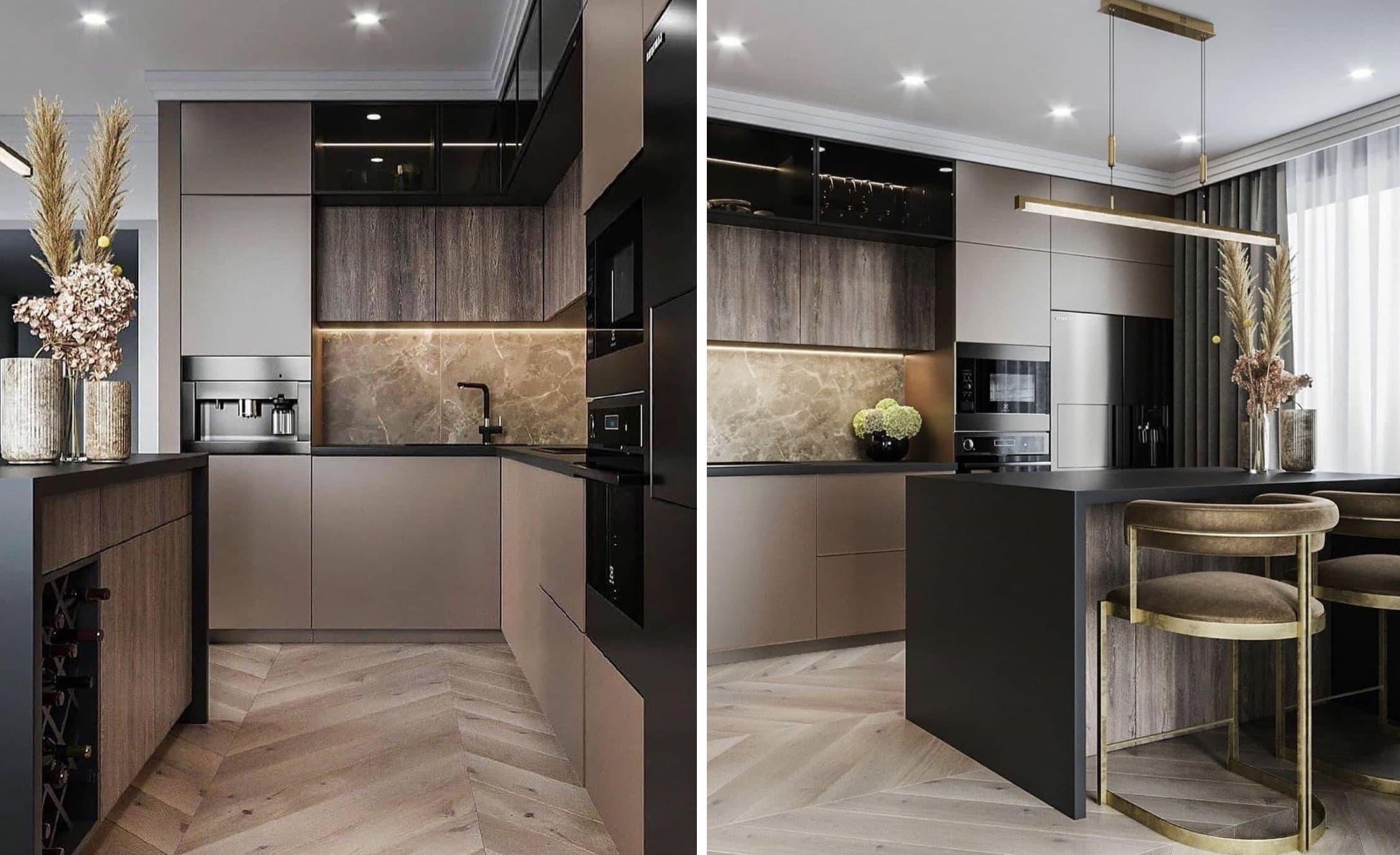 модный дизайн кухни 21