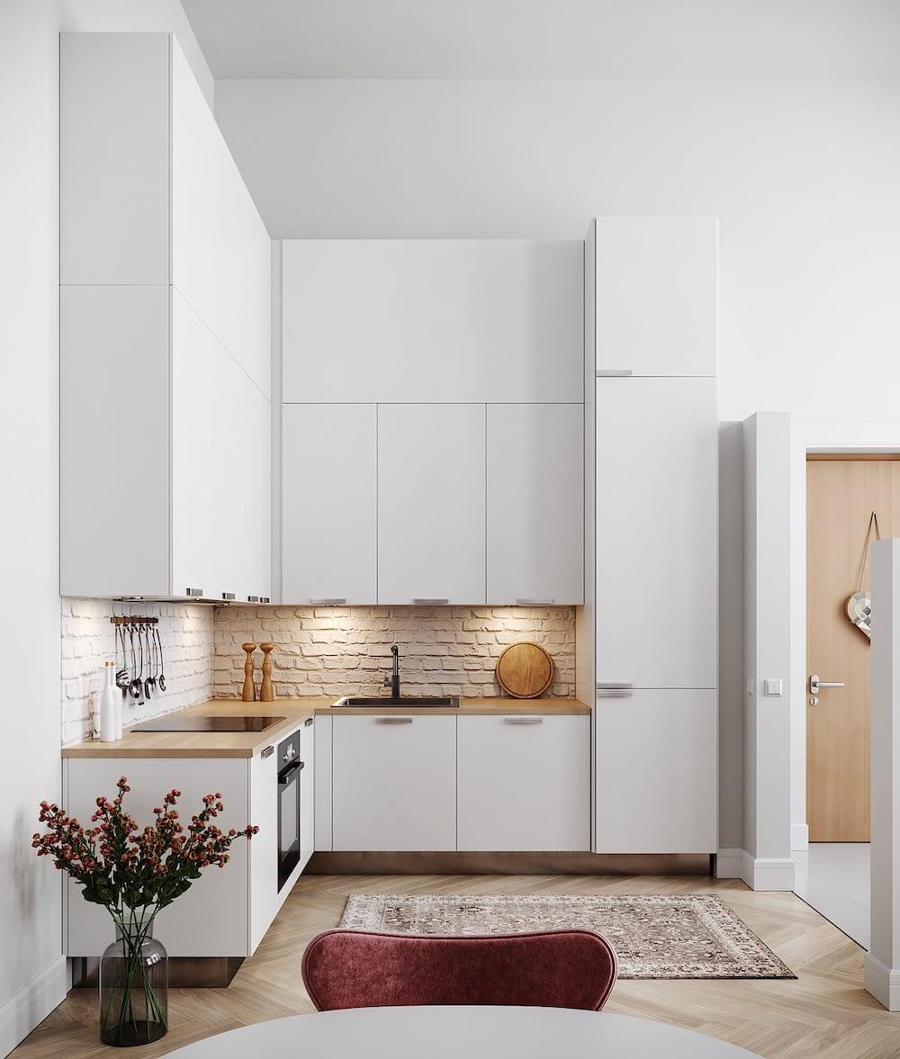 модный дизайн кухни 22