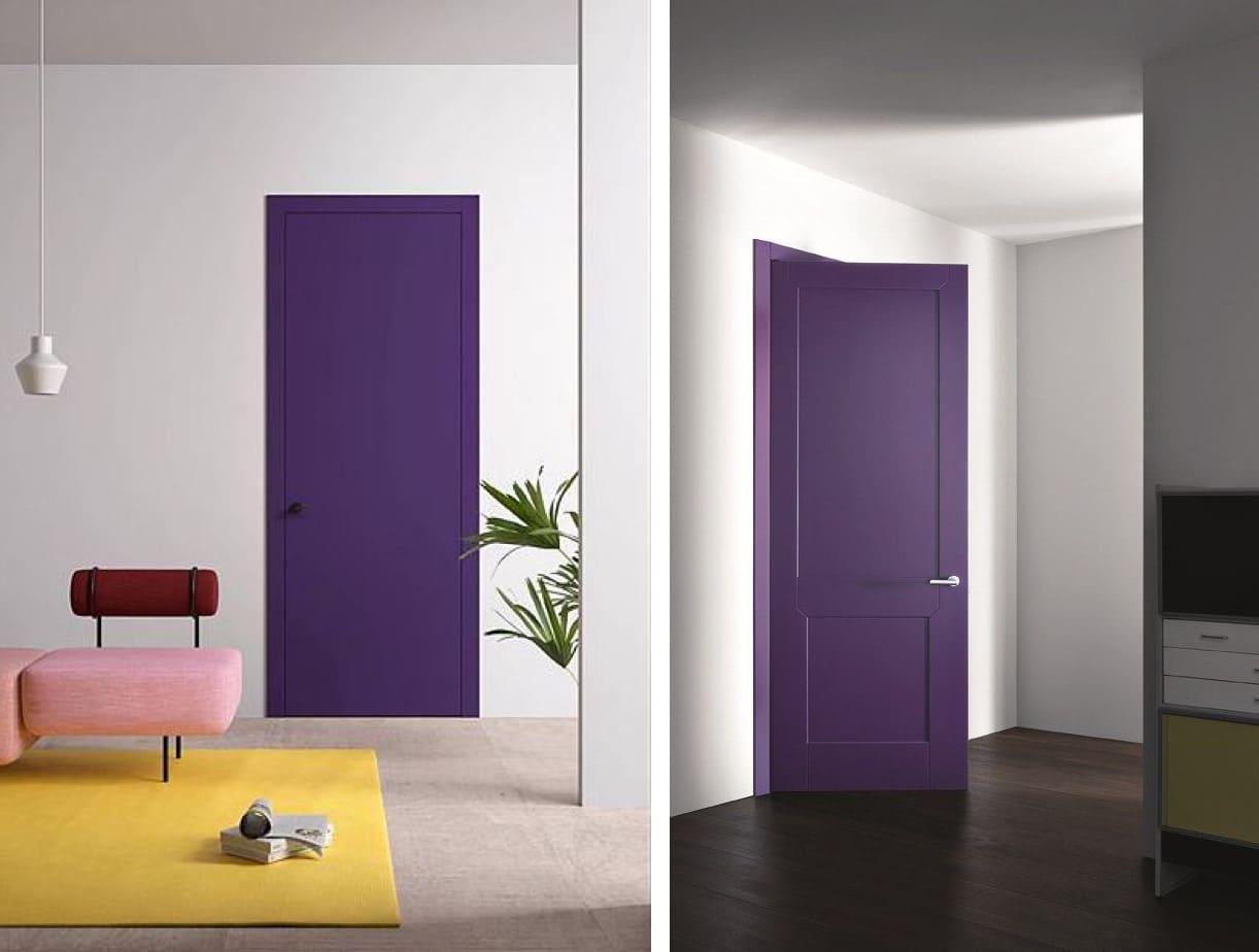 фиолетовый цвет в интерьере фото 21