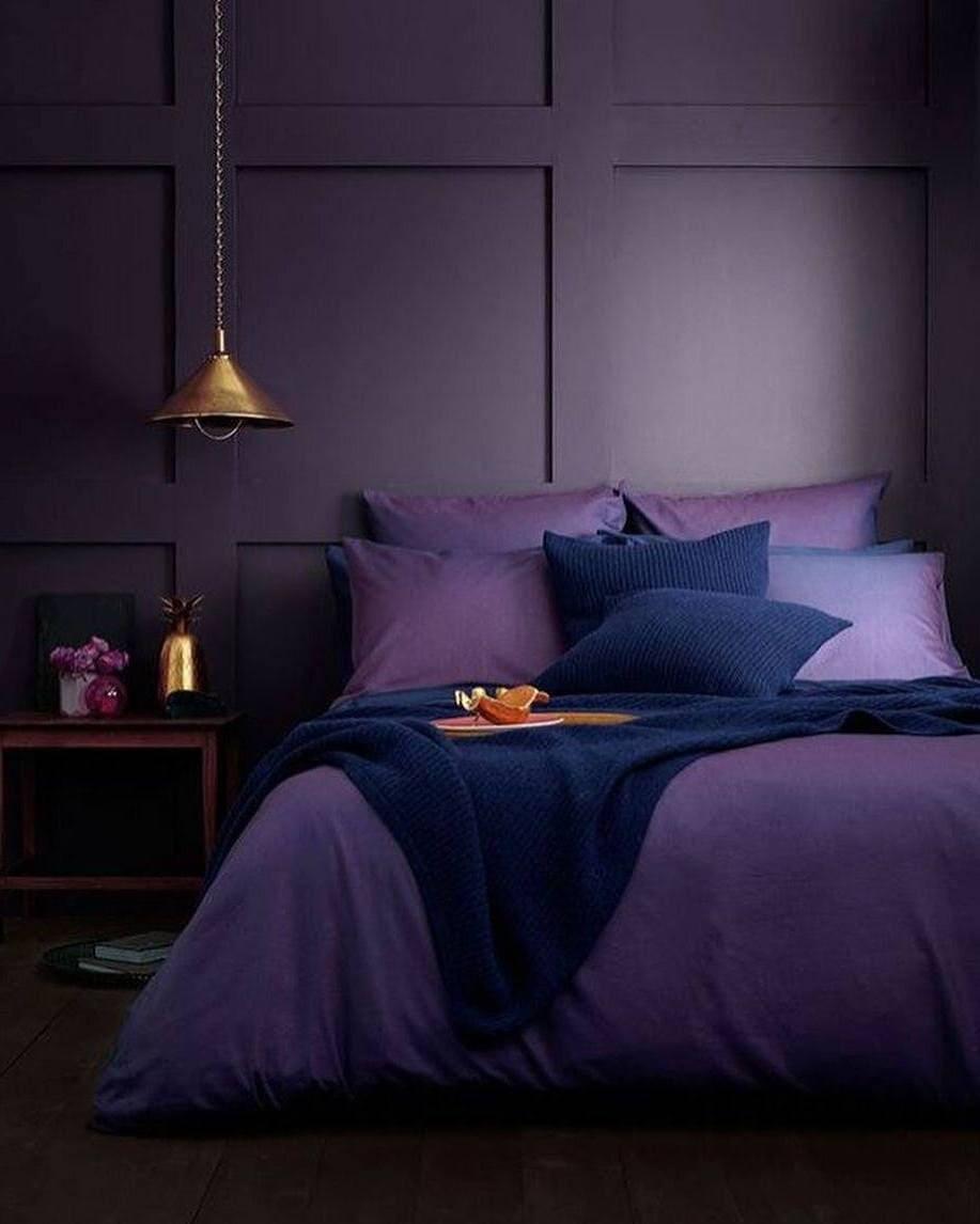 фиолетовый цвет в интерьере фото 16