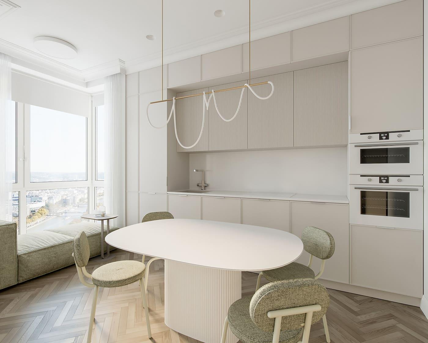 Design d'un appartement à une chambre photo 66