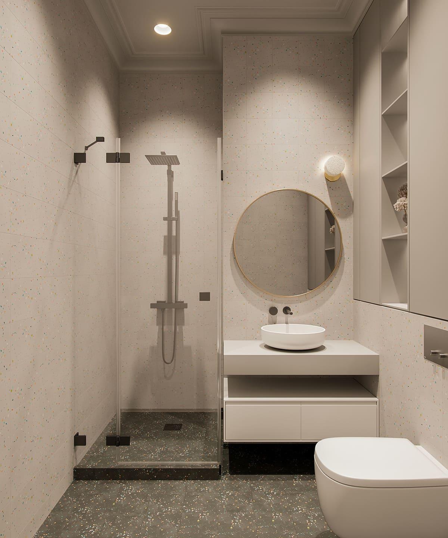 Conception d'un appartement à une chambre photo 67