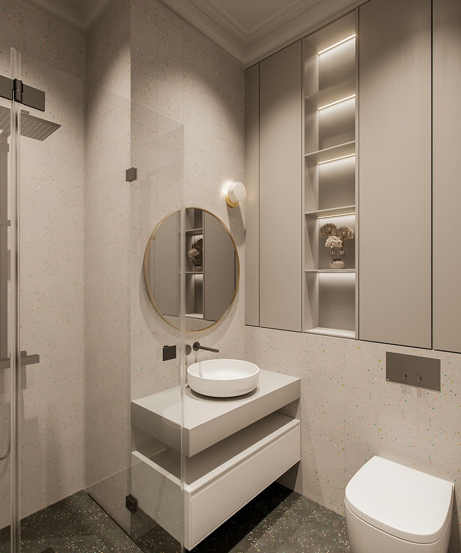 Design d'un appartement à une chambre photo 68