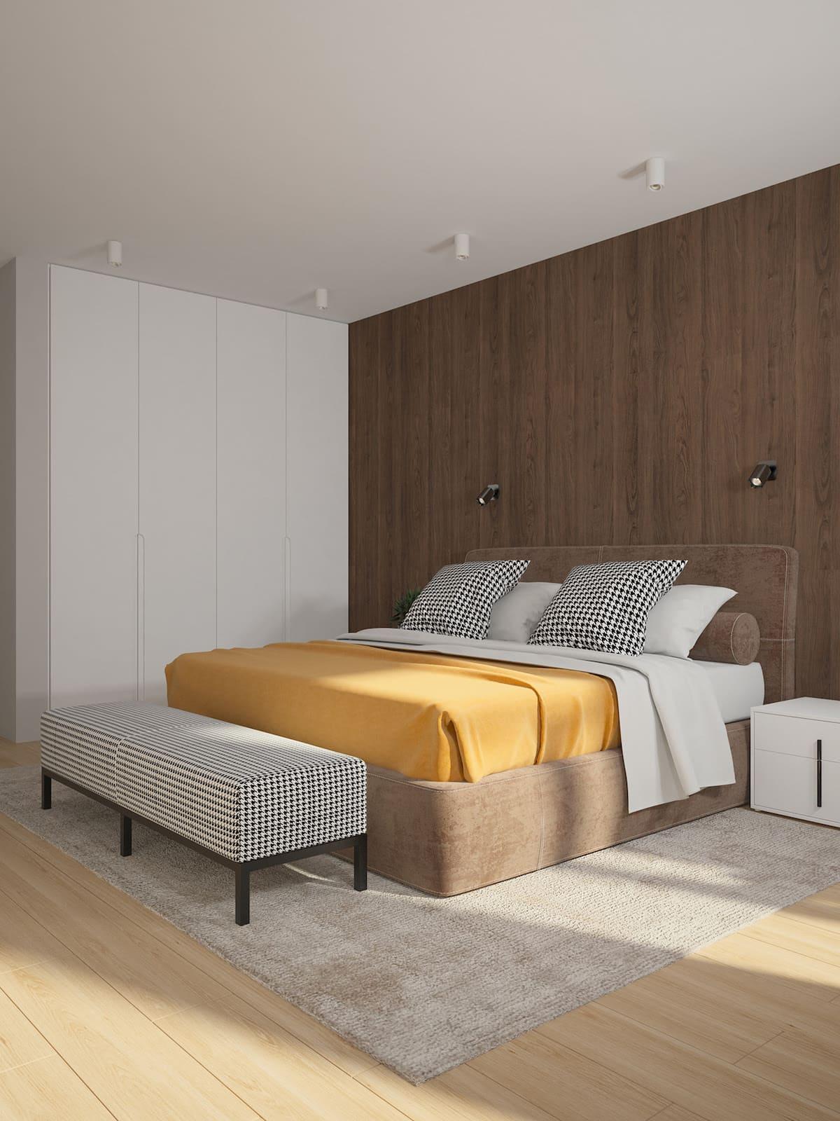 Conception d'un appartement à une chambre photo 10