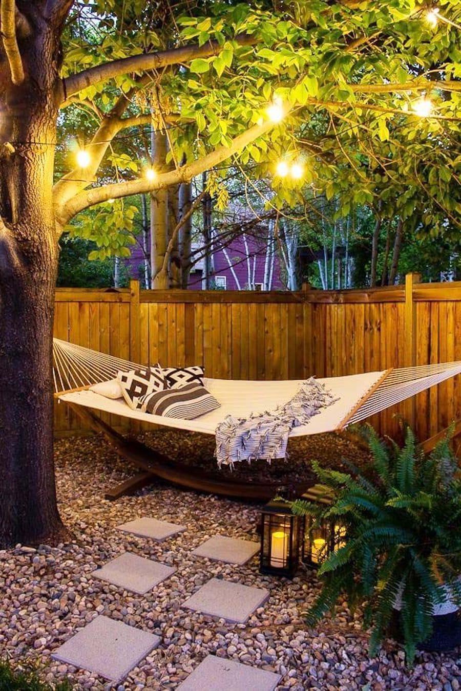 дизайн двора частного дома фото 3