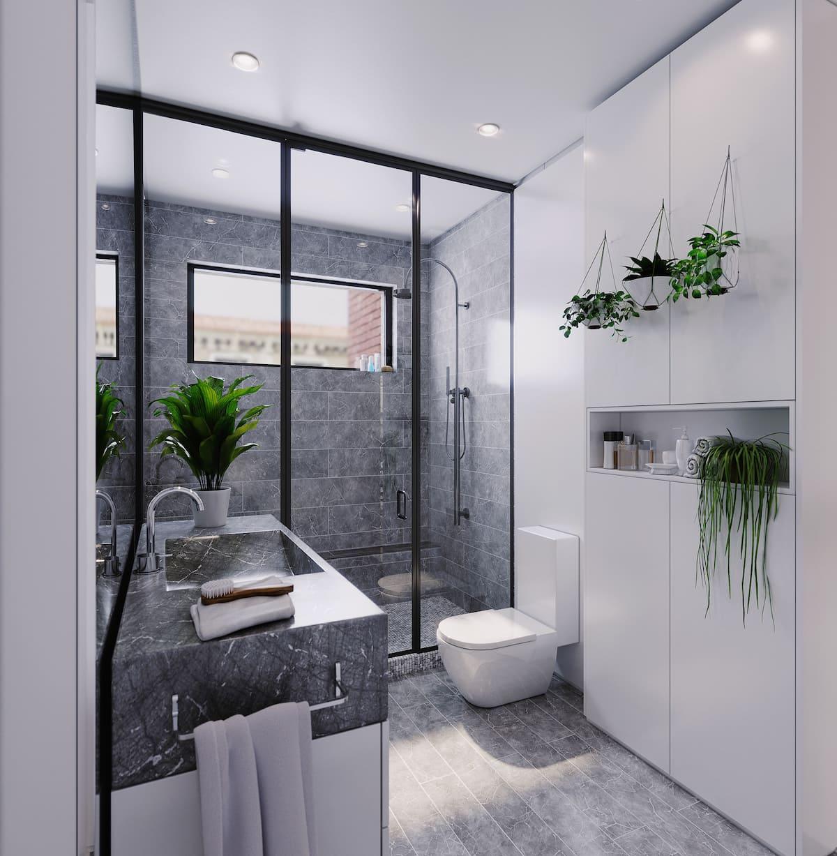 дизайн интерьера модной квартиры фото 15