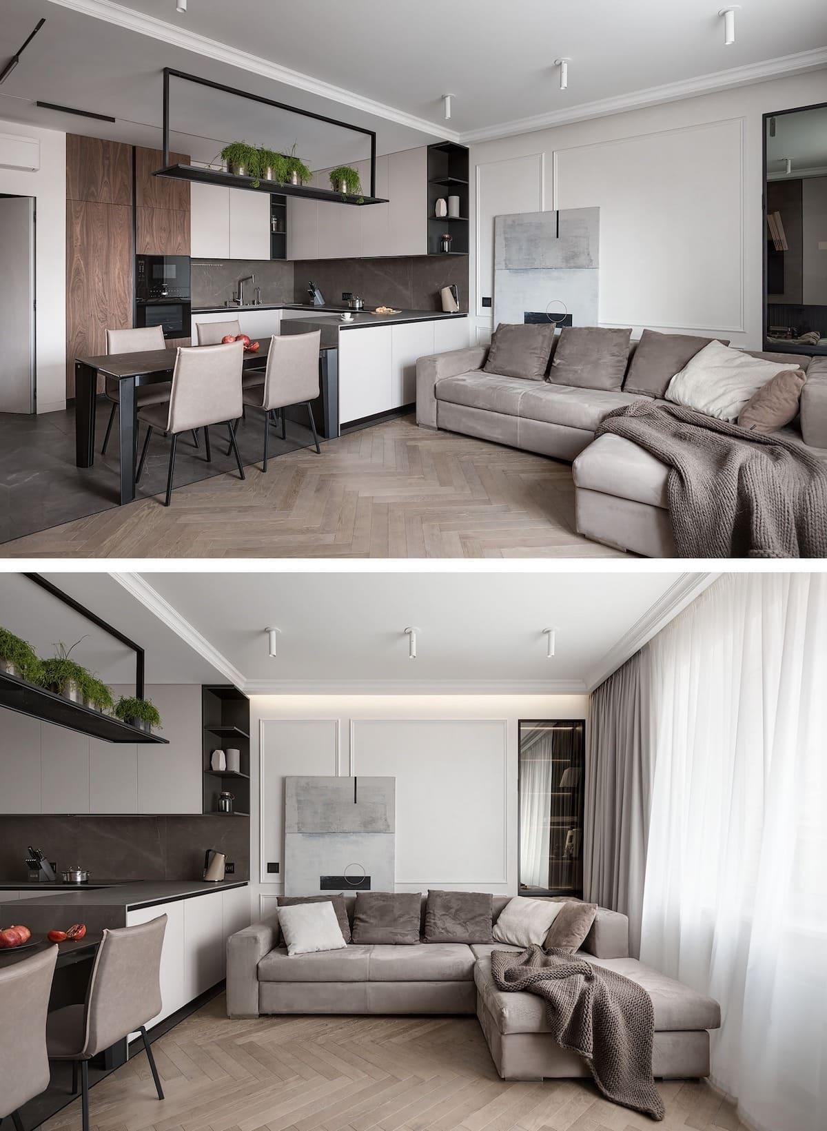 дизайн интерьера модной квартиры фото 53