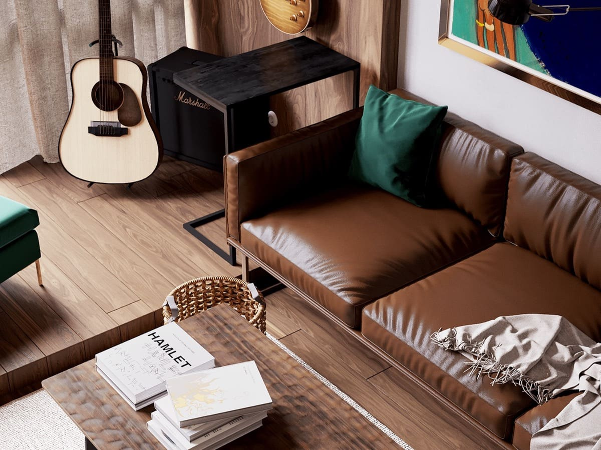 дизайн интерьера модной квартиры фото 64