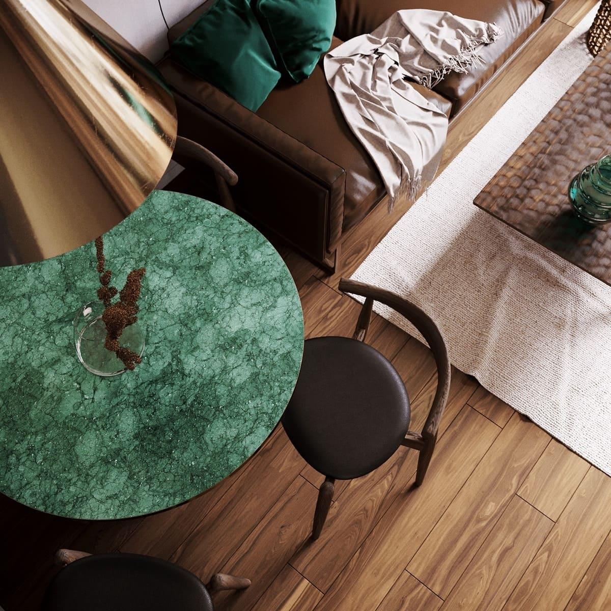 дизайн интерьера модной квартиры фото 65