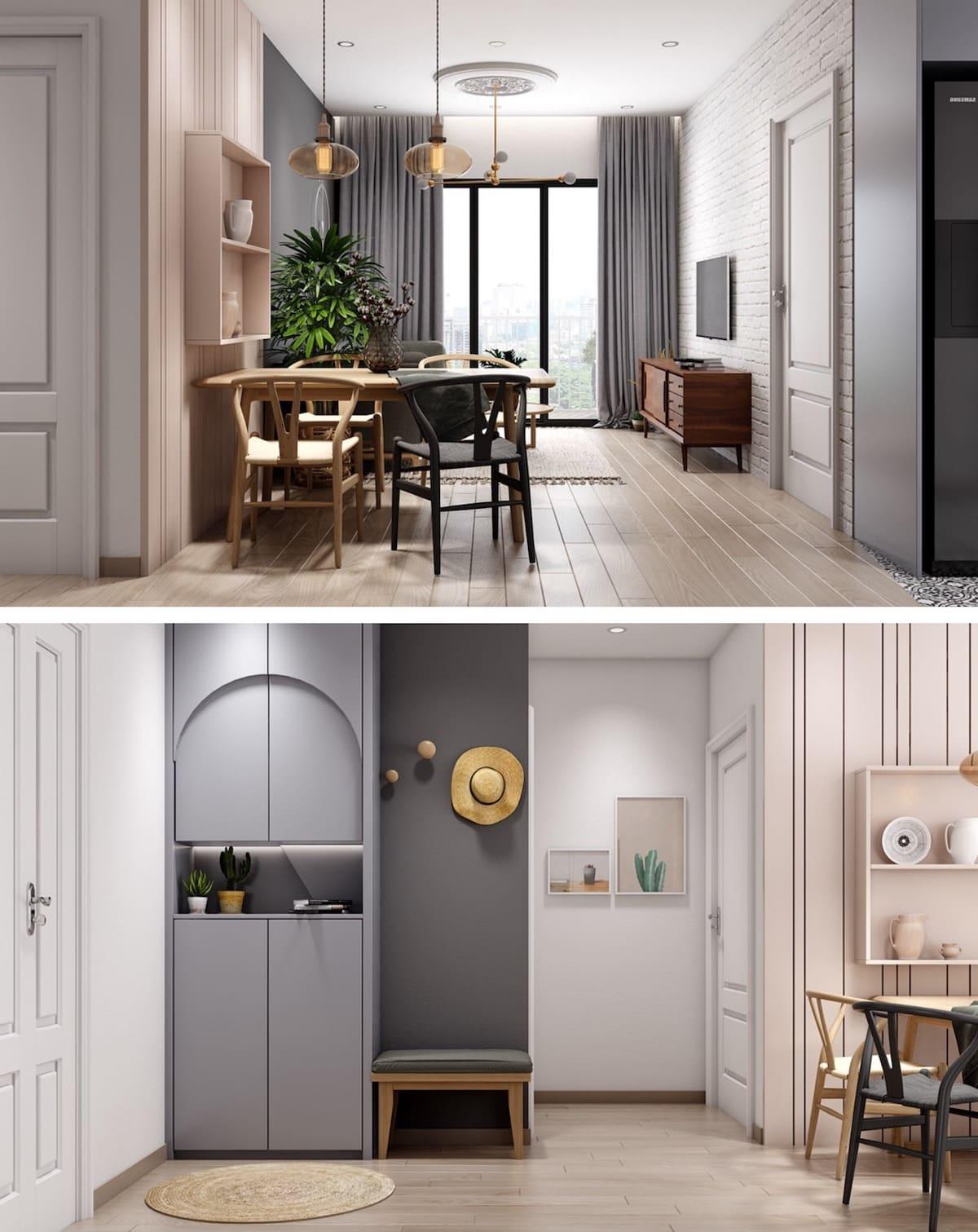 дизайн интерьера модной квартиры фото 71