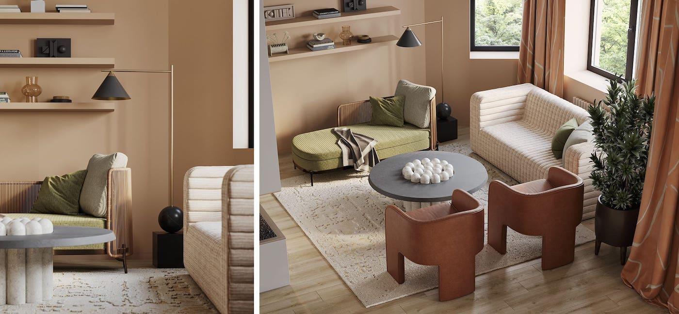дизайн интерьера модной квартиры фото 24