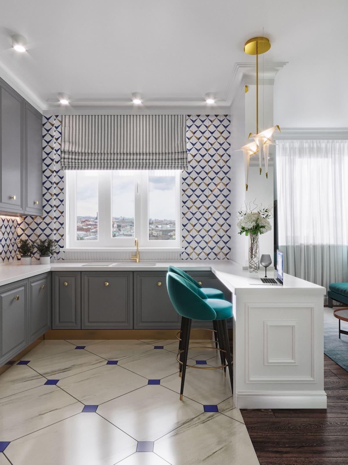 дизайн интерьера модной квартиры фото 32