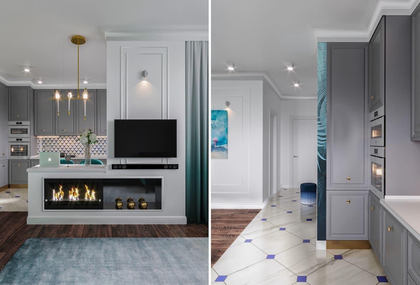 дизайн интерьера модной квартиры фото 33