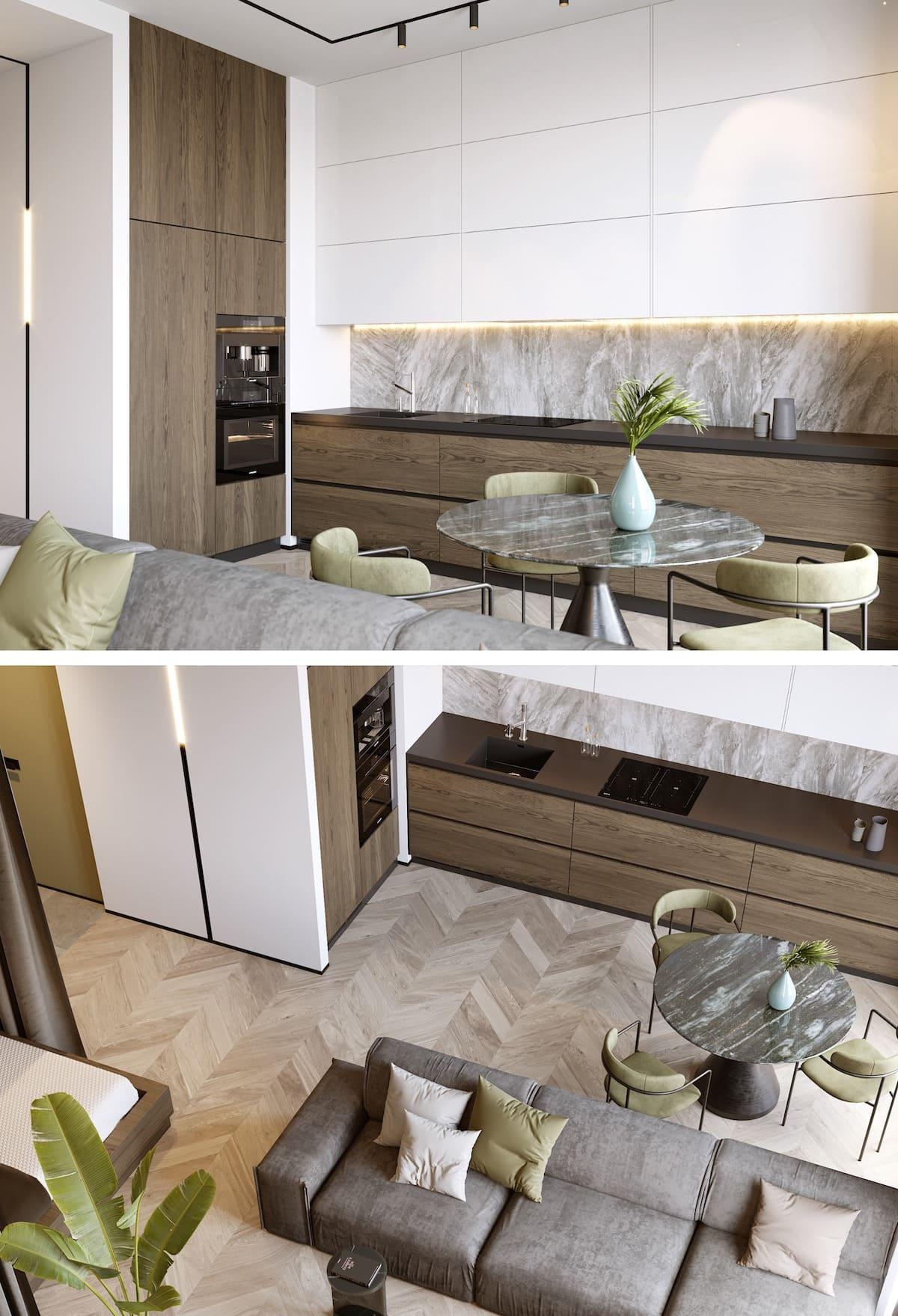 дизайн интерьера модной квартиры фото 77