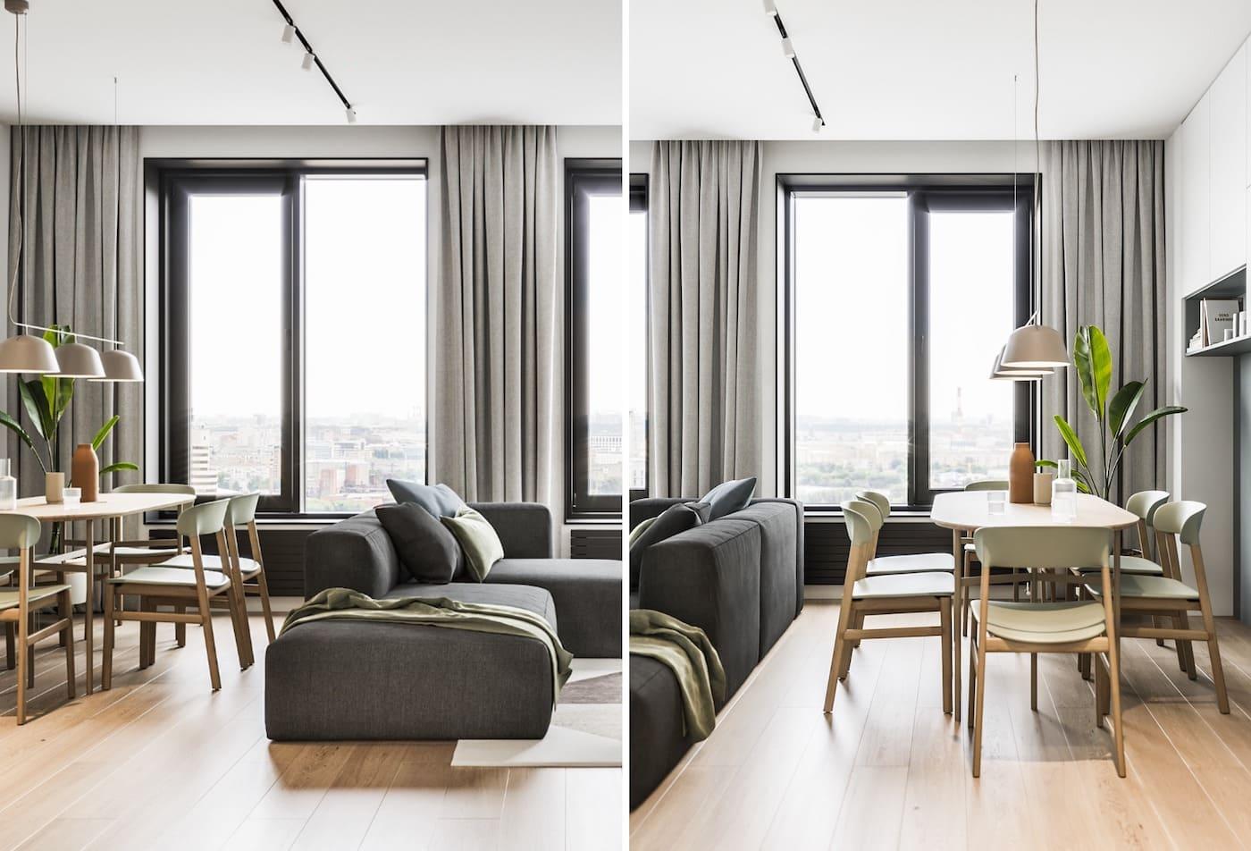 дизайн интерьера модной квартиры фото 46