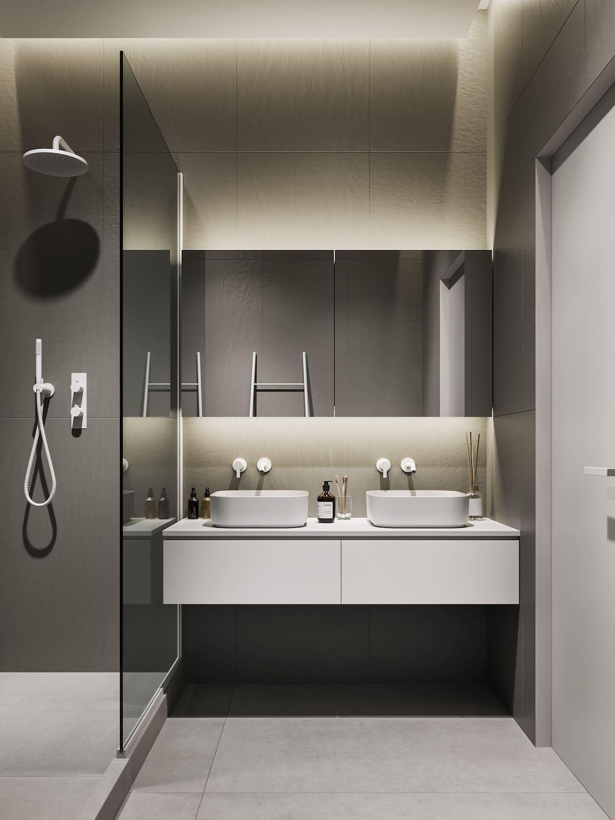 дизайн интерьера модной квартиры фото 51