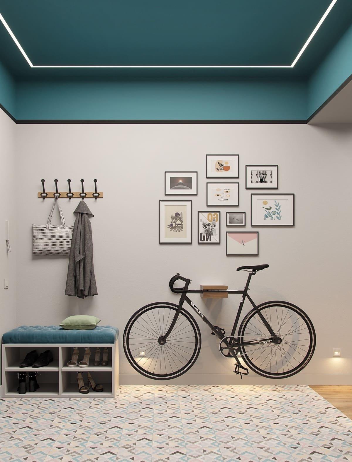 дизайн интерьера модной квартиры фото 57