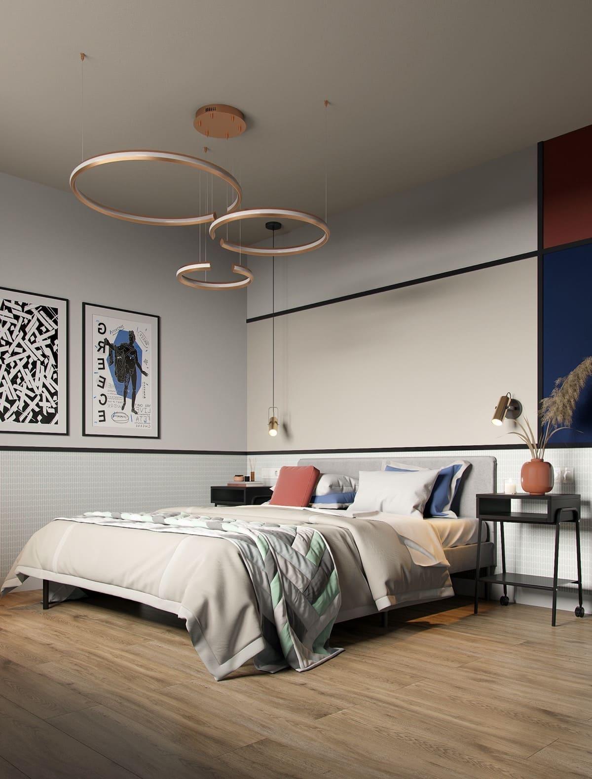 дизайн интерьера модной квартиры фото 58