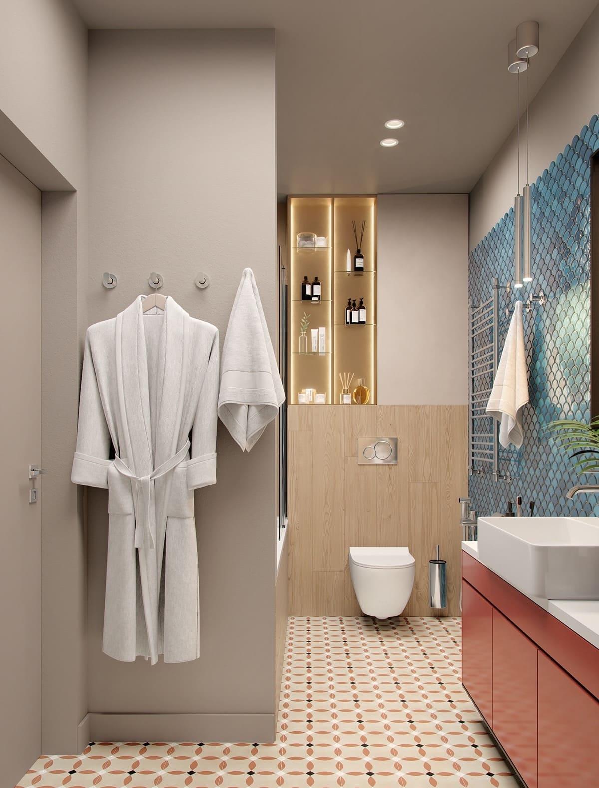 дизайн интерьера модной квартиры фото 60
