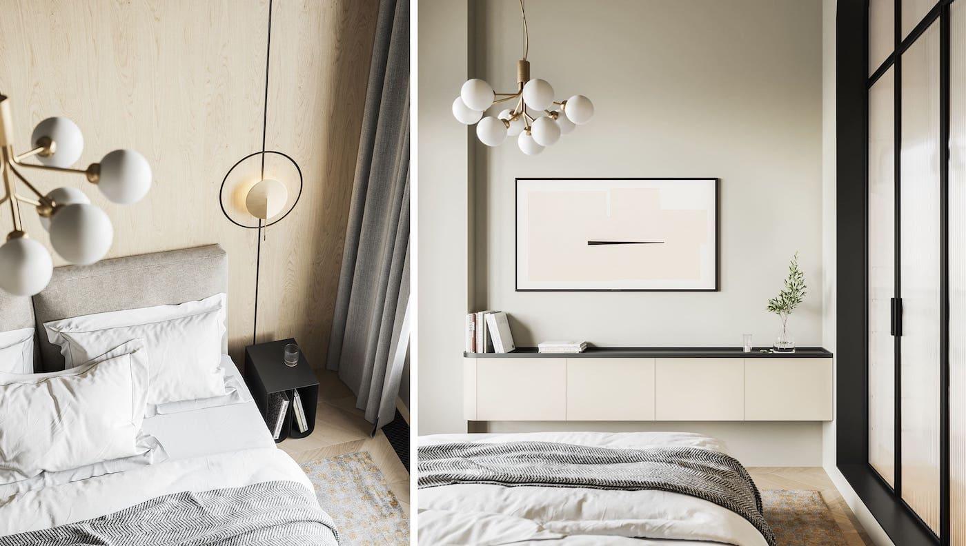 дизайн интерьера модной квартиры фото 26