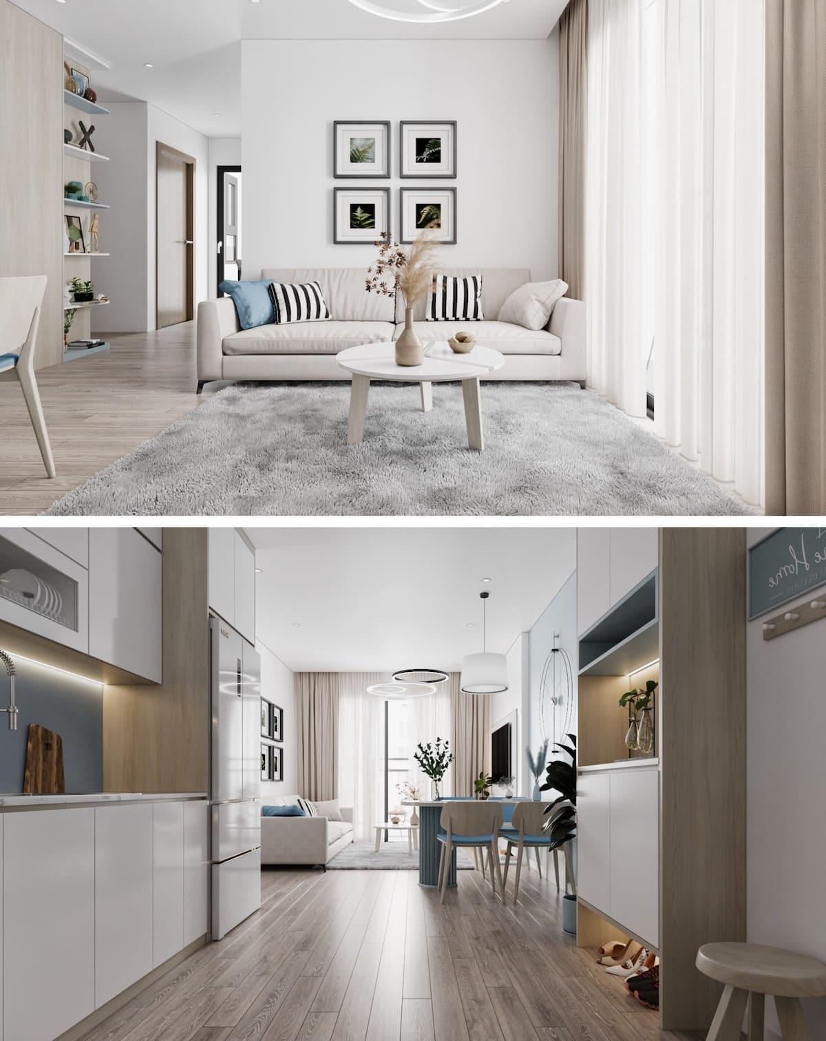 дизайн интерьера модной квартиры фото 81