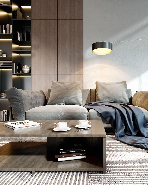 дизайн интерьера модной квартиры фото 84