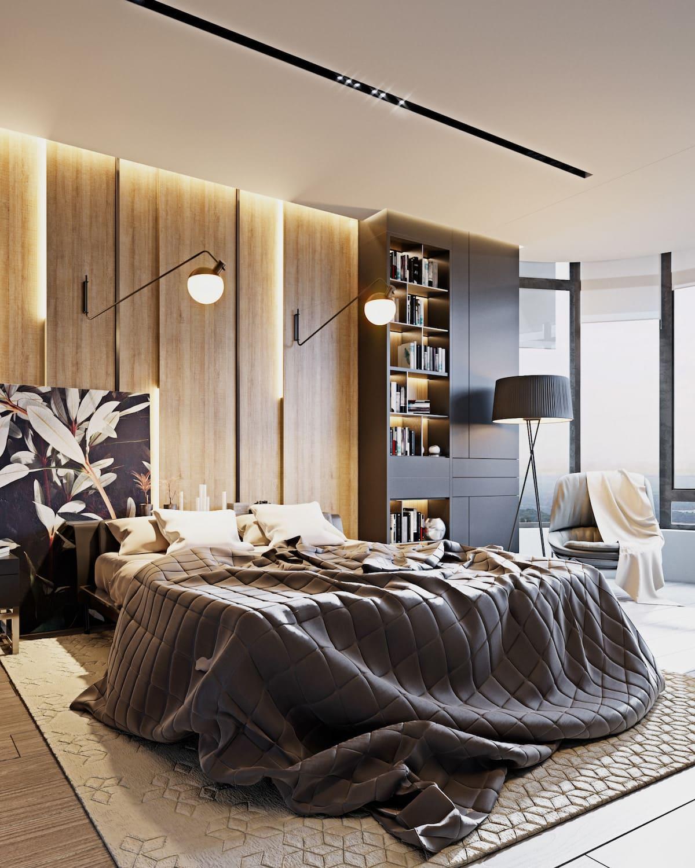 дизайн интерьера модной квартиры фото 23