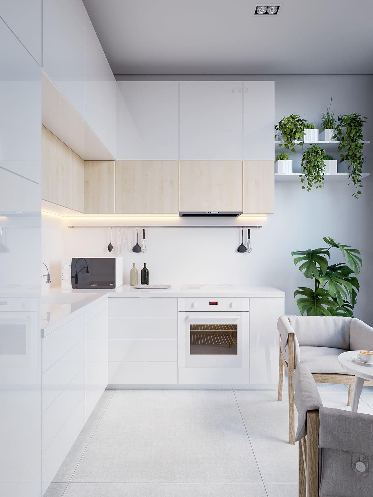 дизайн интерьера модной квартиры фото 43